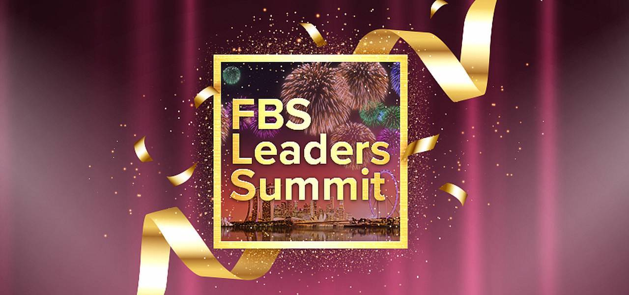 Welcome to FBS Leaders Summit in Singapore!